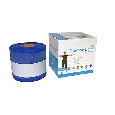 66fit Resistive Exercise Therapy Bands 46m - Latex Physio Rehabilitation Stretch