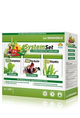 Dennerle Perfect Plant System Set - Complete Aquarium Plant Fertiliser 1600L