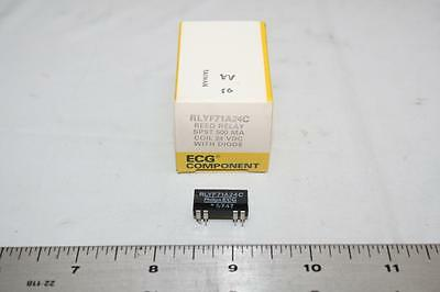 ECG RLYF71A24C Reed Relay with Diode SPST 500mA 24 VDC New