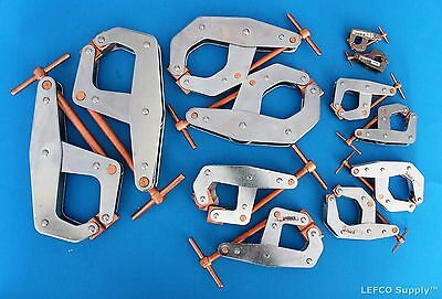 Kant Twist Clamps Set of 12 NEW USA Made T-Handle 2 X 401 405 407 410 415 420