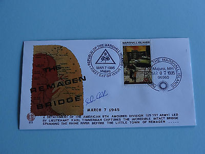 WWII FDC #89 Taking of Remagen Bridge Germany Hitler * 50th Anniversary