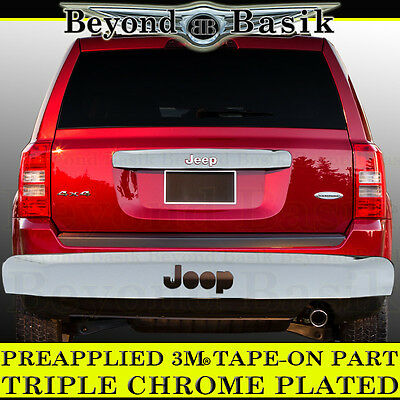 2007-2016 JEEP PATRIOT Chrome Liftgate Tailgate Handle Cover Trim Overlays