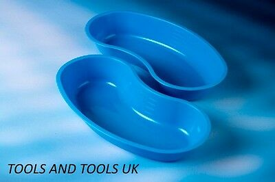 3 Pcs Plastic Kidney Tray Dish 20.3cm Surgical/Medical/Vet/Tattooist /Beauty