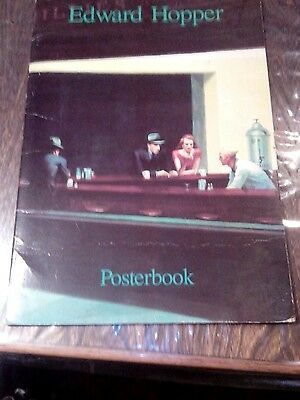 Edward Hopper Posterbook - 6 Photo Posters,  German/english 1990