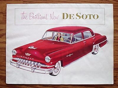 1952 Desoto - Large Color Sales Catalog!