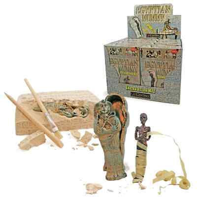 Dig Kit Excavation Kit Egypt Mummy Science Kits for Kids Egyptian Toys Gift NEW