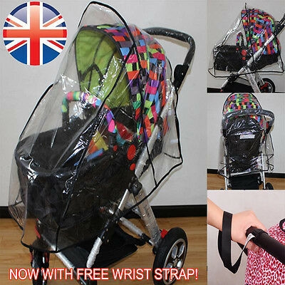 *UK Seller* Universal Pushchair Buggy Pram Stroller Raincover Rain Cover Baby