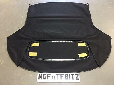 Mg Tf New Heated Rear Glass Screened Hood With Free Installation Guide