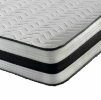 Memory Foam Spring Quilted Mattress Single 3Ft