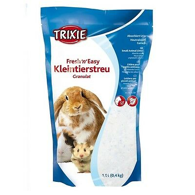 Hamster Rat Guinea Pig Rabbit Crystal Clear Silicate Litter Pearls Biodegradable
