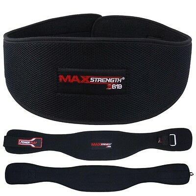 Weight Lifting Belts Power Back Pain Support Bodybuilding Power Training Gym