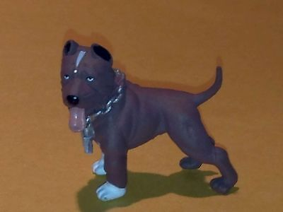 "HOOD HOUND DOGS ""PiT Bull Terrier"" Brown Dog Figure New"