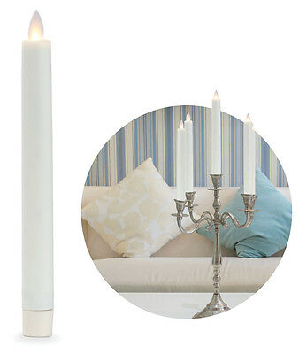 """8"""" Ivory Flameless Candles"""