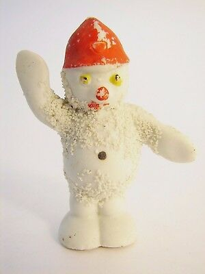 Antique SNOWBABY IN RED BRITISH BOBBY HAT from Japan circa1930s