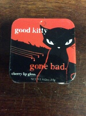 Emily the Strange Good Kitty Gone Bad Cherry Lip Gloss .12 oz / 3.5 g