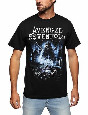(TG. Small) T Shirt Avenged Sevenfold Recurring Nightmare (Nero) - Small