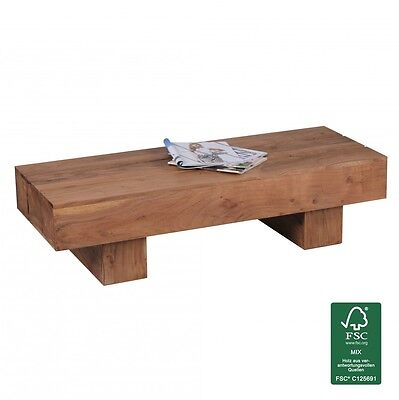 Grande table style industriel atelier ferme int rieur for Table basse acacia massif