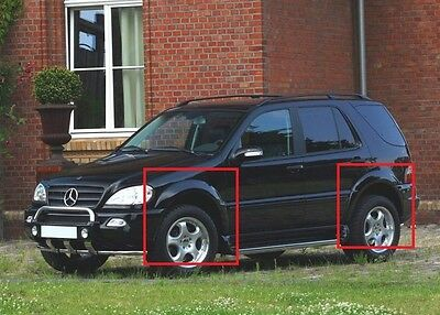 Mercedes Ml W163 Fender Flares / Wheel Arch Extensions New!!