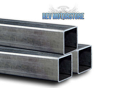 100 x 100 x 4mm 4 INCH STEEL MILD BOX SECTION VARIOUS SIZES LENGTHS SQUARE TUBE