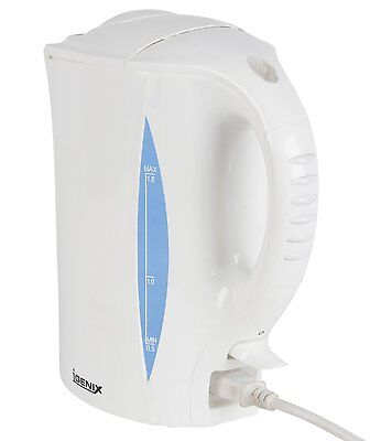 New: Igenix Ig7230 2.2Kw 1.8 Litre White Corded Jug Kettle
