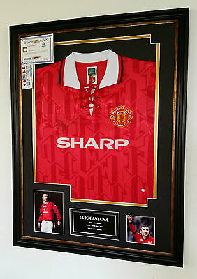 *** SPECIAL Eric Cantona of Manchester United Signed Shirt with Certificate ***