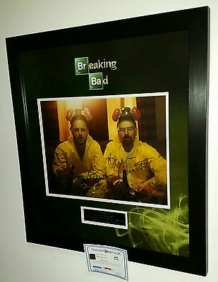 *** Rare BREAKING BAD Signed Autograph Photo Picture Display *** BRYAN CRANSTON
