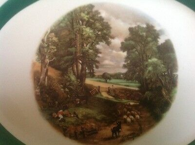 "Homer Laughlin Platter - Nautilus ""The Cornfield"" Constable 11 3/8"" L X 9"" W"