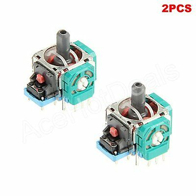2X 3D Controller Joystick Axis Analog Sensor Module For PlayStation 4 PS4