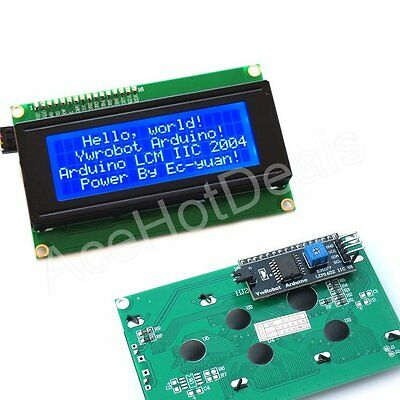 Blue Serial IIC/I2C/TWI 2004 20X4 Character LCD Module Display For Arduino