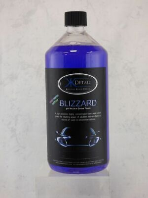 NEW Krystal Kleen Detail Blizzard Snow Foam 1 Litre - pH Neutral - Tutti Frutti