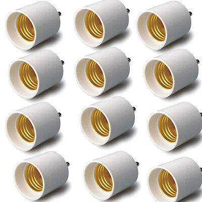 Adapter-Converts your Pin Base Fixture GU24 to Standard Screw-in Bulb Socket E26