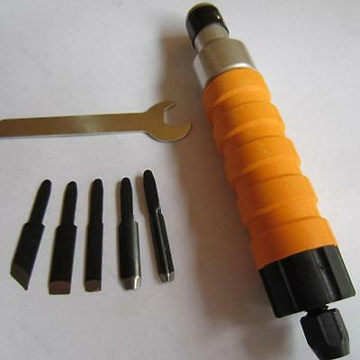 Electric Wood Chisel Carving Tool #G Hammer Chuck Attachment Chisels For Machine