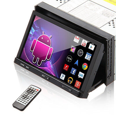 """7"""" Inch Doppel 2 Din Autoradio Android 4.4 GPS Navigation 3G&wifi TV RDS 2016"""