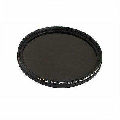FOTGA 82mm Optical Glass Thin Fader Adjustable Variable ND Filter ND2 to ND400