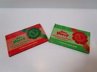 Kids Adults Merry Christmas Love Romance Coupons Vouchers