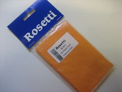 "By Rosetti, The ""NO HAZE"" Gold POLISHING CLOTH  for Lacquered Brass Instruments"