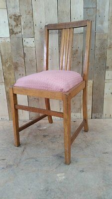 Retro Vintage Single Wooden Kitchen / Bedroom Chair For Upcycle Shabby Chic??