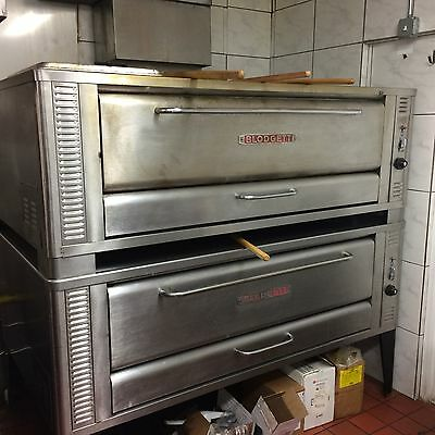 Blodgett 1060 Double Steel Deck Pizza Oven