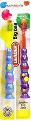 Leader Kid's Big Ball Toothbrush Twinpack, 2ct 096295117103A098