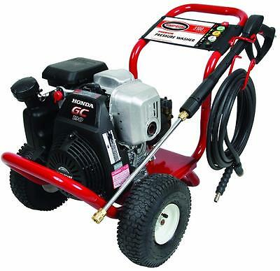 Simpson MSH3125-S Megashot 3100 PSI  2.5 GPM Gas Pressure Washer