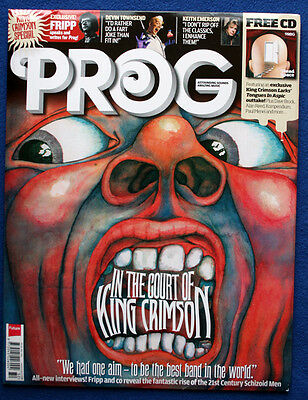 Classic Rock Presents Prog Issue 32 December 2012 King Crimson + Free CD