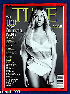 Time Magazine May 2014 Double Issue - 100 Most Influential People, Cover Beyonce