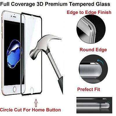 100% Genuine Tempered Glass Screen Protector For Apple Iphone 6S Plus - New