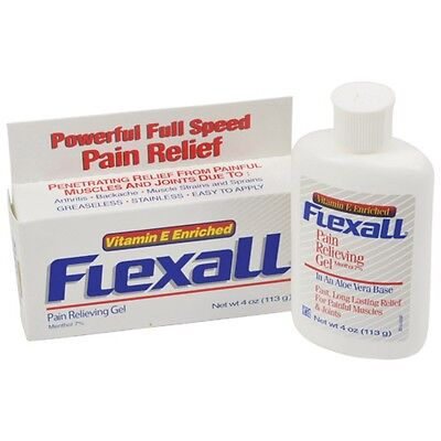Flexall 454 Gel - Cold Therapy Injury Pain Relief Arthritis Muscle Sprain Cream