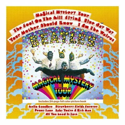 The Beatles Magical Mystery Tour Greeting Birthday Card Any Occasion Official