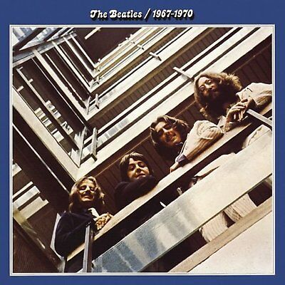 The Beatles Blue Album Greeting Birthday Card Any Occasion Cover Fan Official