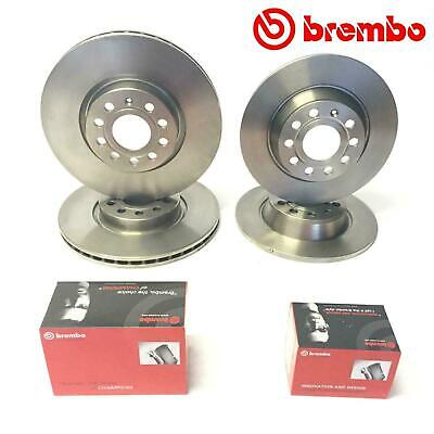 For Audi A3 8P 2.0 TDI /Quattro 140 Front Rear Brembo Brake Discs Pads 288/253mm