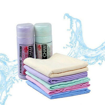 Magic Home Car Chamois Leather Cleaning Wipe Washing Cloth Absorbent Towel  L97