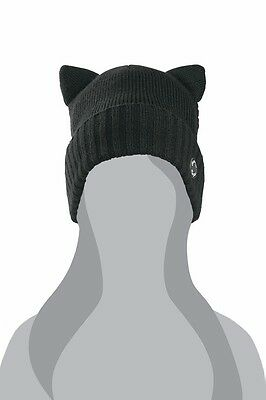 Arctic Cat Youth Cat Ear Beanie / Hat - OSFM - Black 5263-043