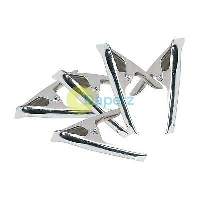 """Metal Spring Clamps Grips Clips Market Stall 6"""" 150mm For Tarpaulin Leather Ends"""